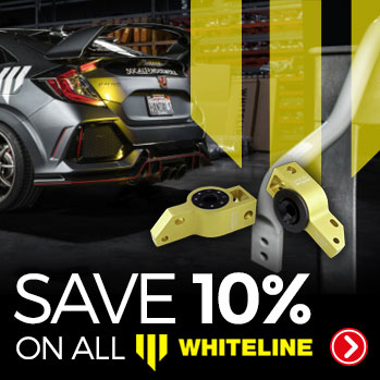 Whiteline for Ford Focus RS, ST, Mazda MX5 and more