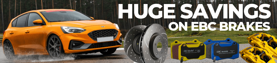 EBC Brake Discs and Pads for Ford RS, ST, Mazda MX5 and more