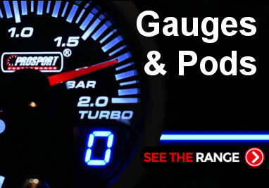 Gauges and Gauge Pods for Toyota Glanza, Evo, Subaru, Ford Focus