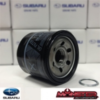 Black Genuine Subaru Impreza Oil Filter & Sump Gasket - 15208AA100