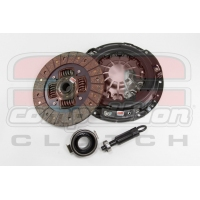 Competition Clutch 8090-ST-2100 - Honda Civic K Series 6sp. - Stage 2 Steelback Brass Plus Clutch Kit with Flywheel