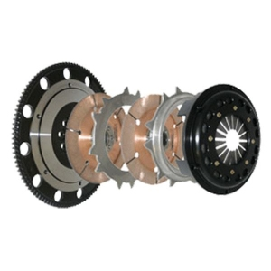 Competition Clutch 4-8017-C - Honda Integra, CRX, Civic (Small Spine Cable B Series Eng.) - 184MM Rigid Twin Disc 5-speed - 9.86kgs