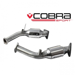 Cobra Sport Exhausts for Nissan 350Z 07> (HR engine) High Flow Sports Cats