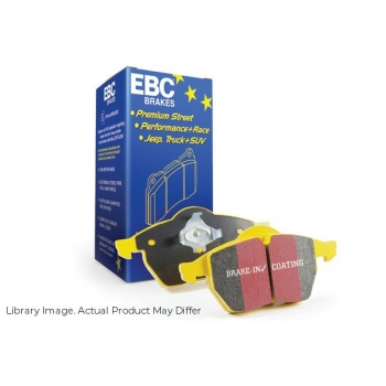EBC Yellowstuff 4000 Series Street And Track Brake Pad Set To Fit Rear Part No DP41933R